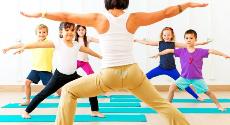Est-il possible pour un enfant de faire du yoga