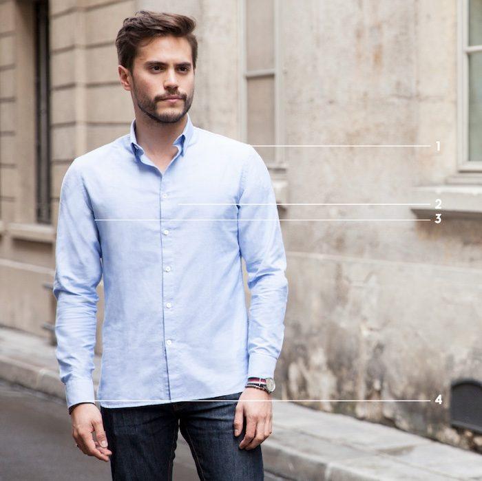 Quelle taille de chemise choisir 2