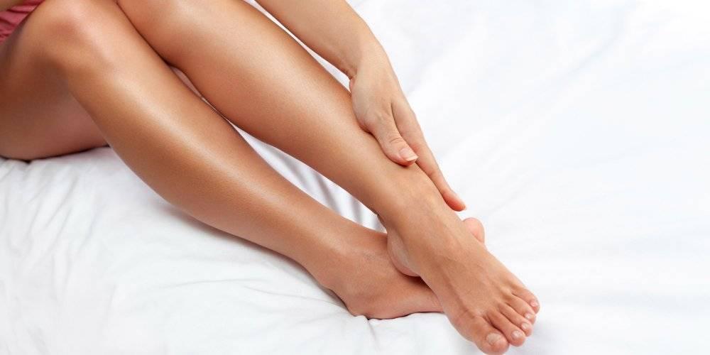 Epilation des jambes lumière pulsée