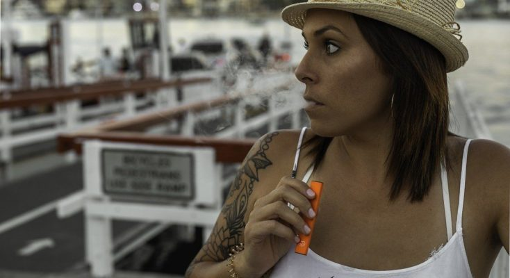 Vapoter pour arrêter de fumer