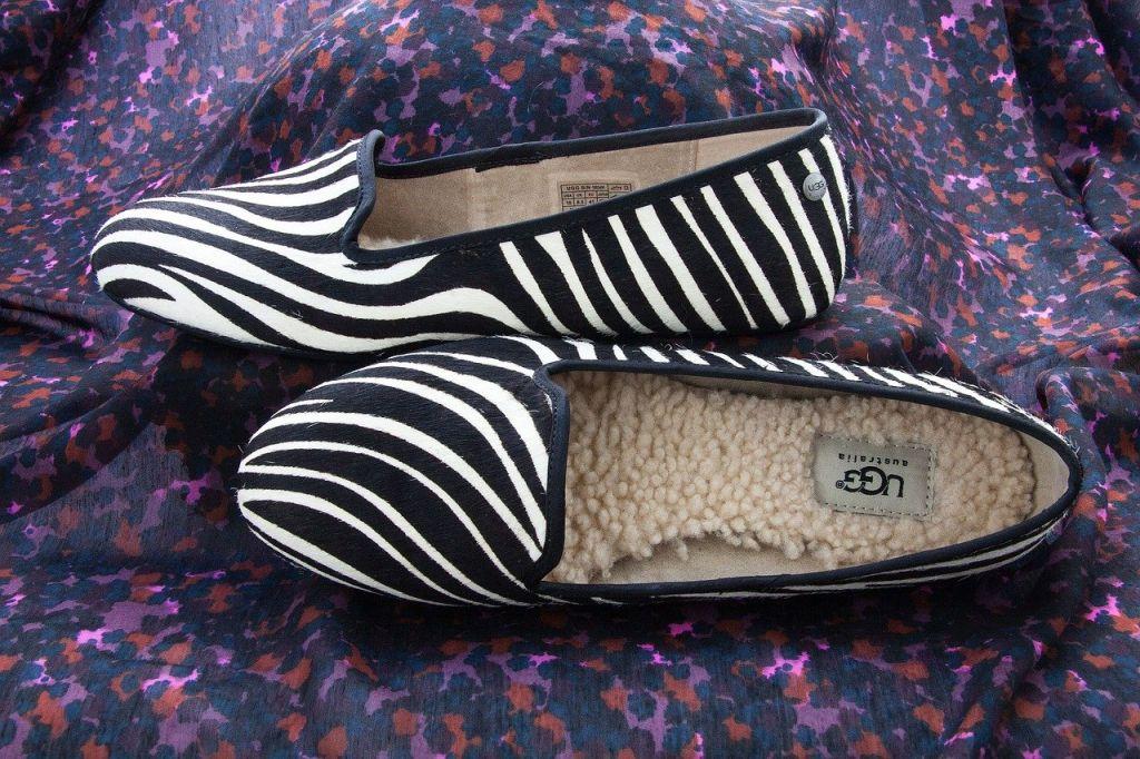 Chausson pantoufle de la marque UGG
